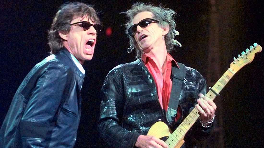 Mick Jagger och Keith Richards.