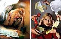 stressad utan jobb Att vara arbetssökande är mer stressande än att ha ett jobb och mycket att göra. Det visar en ny undersökning.