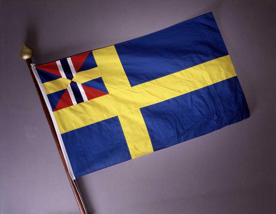 Unionsflaggan, skrotad 1905
