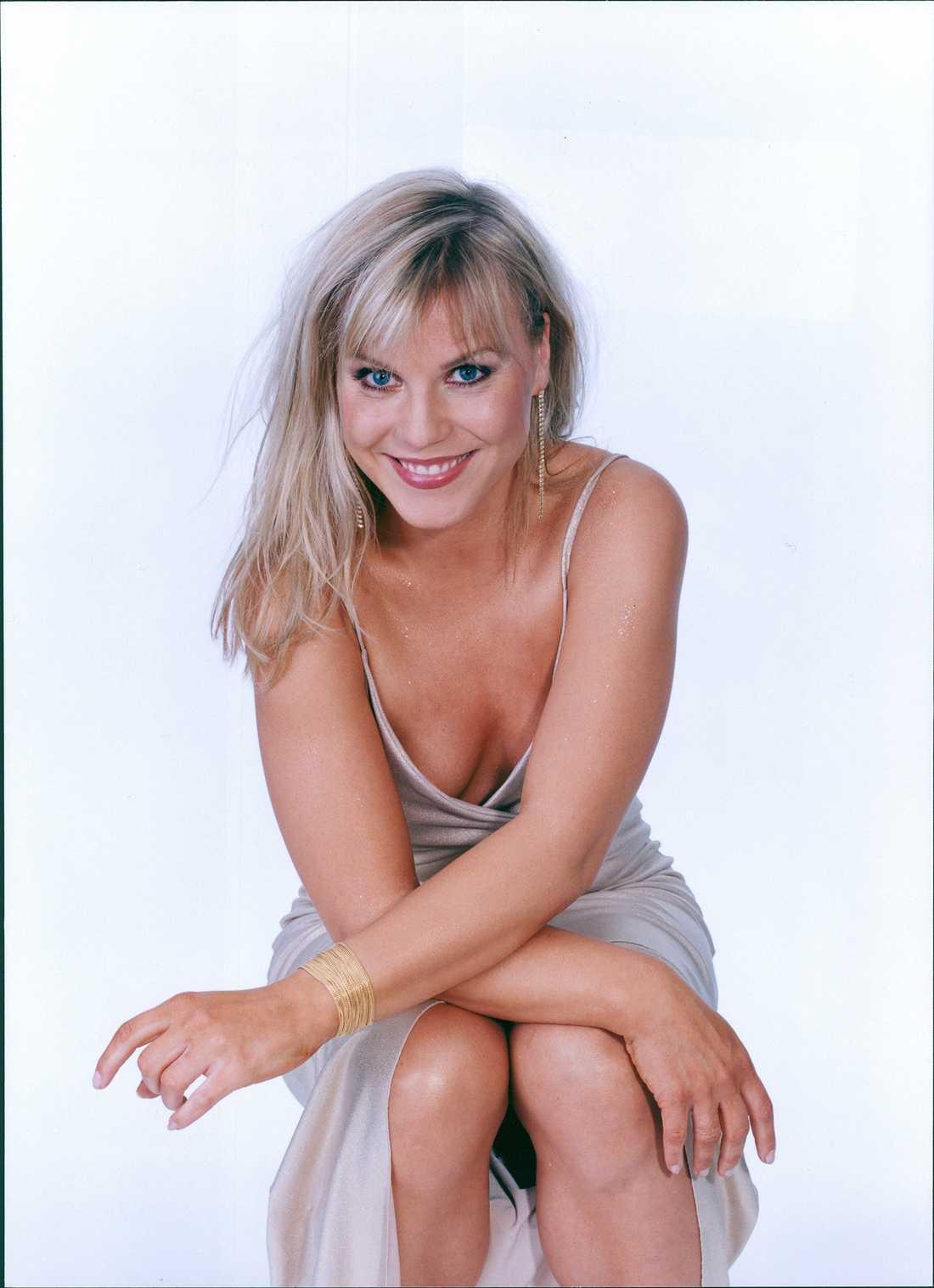 Josefin Nilsson år 2000.