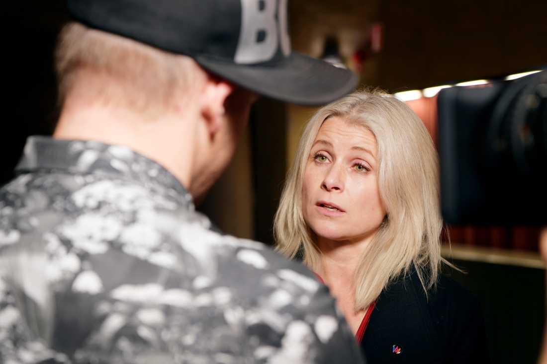 Melodifestivalens projektledare Anette Helenius.