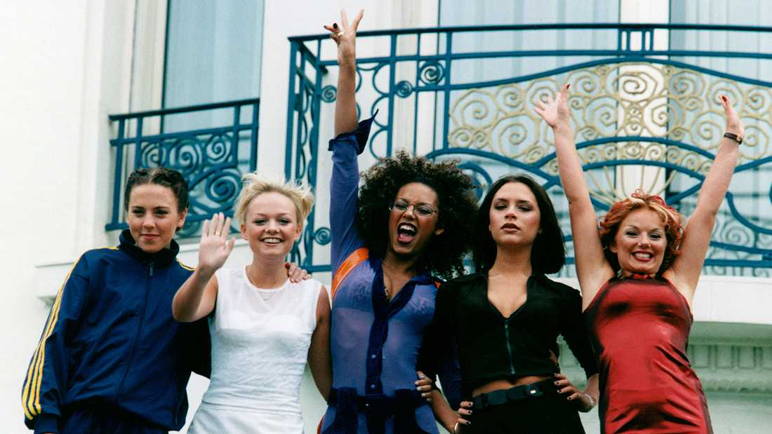 Spice Girls i Cannes 1997.