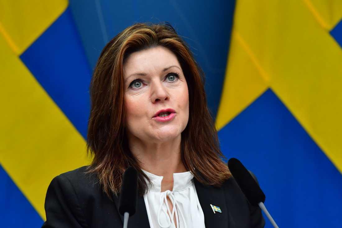"""""""Vi kommer inte vara nöjda förrän vi har en lösning på plats även för veckopendlare"""", skriver Eva Nordmark en kommentar till TT. Arkivbild."""