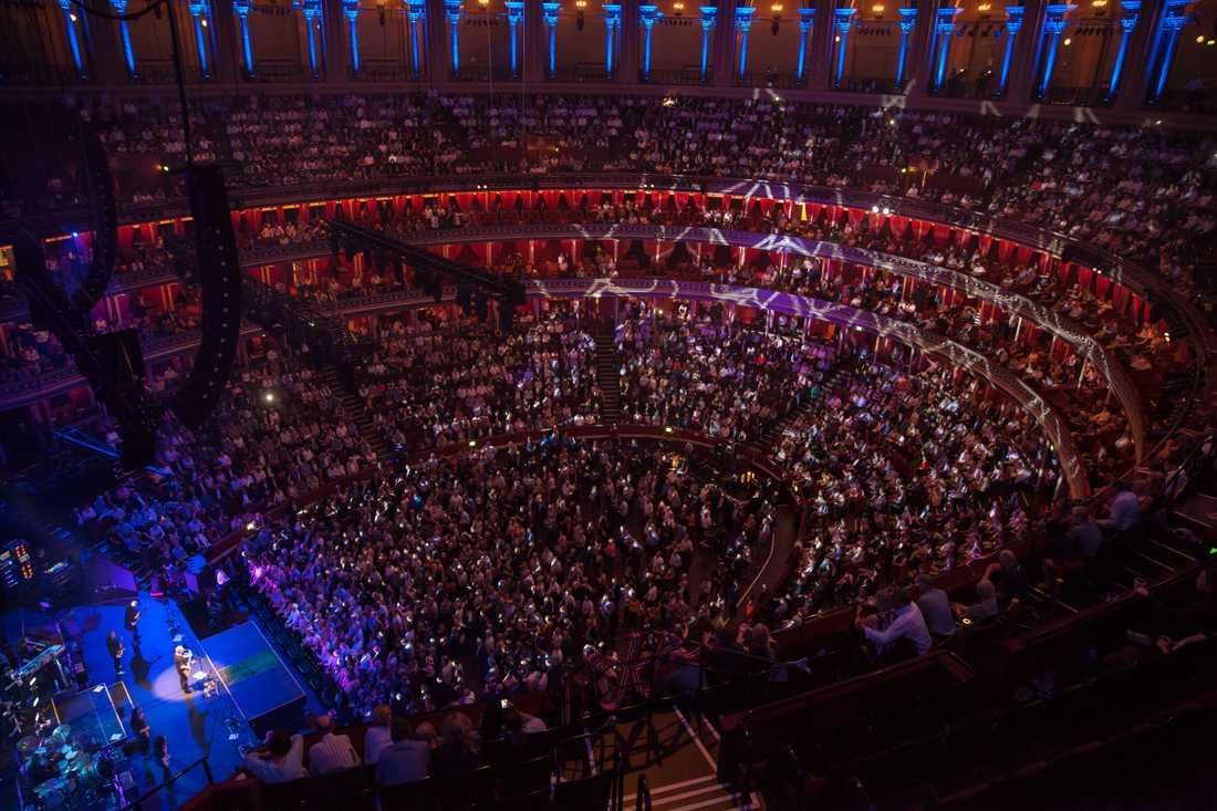 Royal Albert Hall i London är illa ute ekonomiskt. Arkivbild.