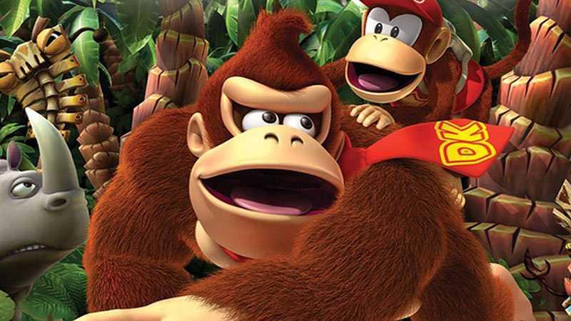 Donkey och Diddy Kong.
