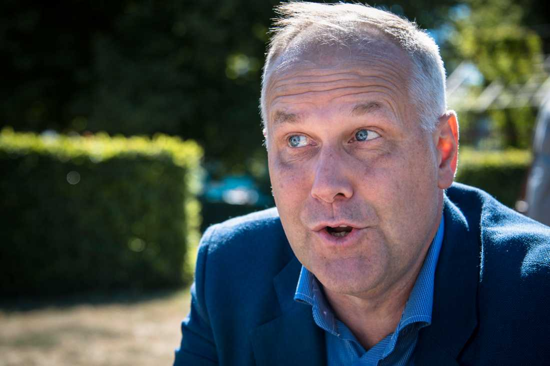 V-ledaren Jonas Sjöstedt.