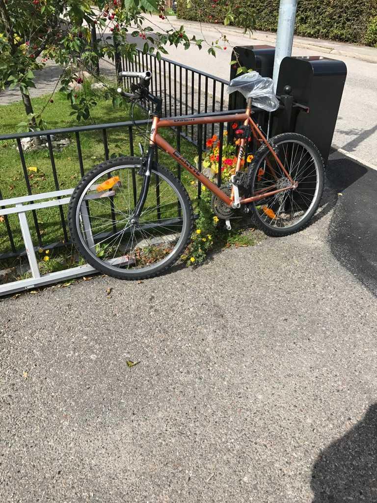 Den nya cykeln är förvisso fin, men inte lika bra som den gamla.