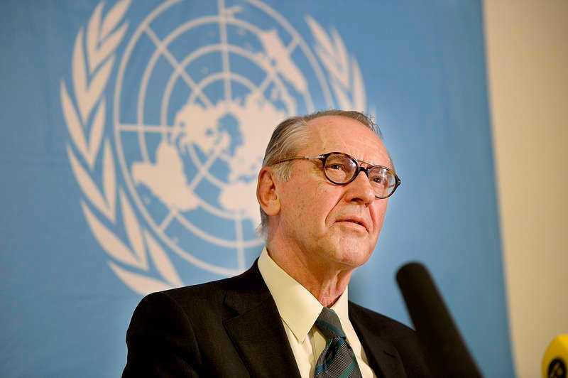 På plats i New York finns FN:s vice generalsekreterare Jan Eliasson, som tidigare besökt Ukraina för att värdera läget i samband med krisen.