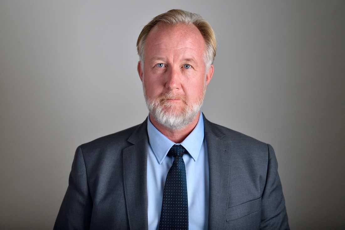 Johan Pehrson, gruppledare för Liberalerna. Arkivbild.