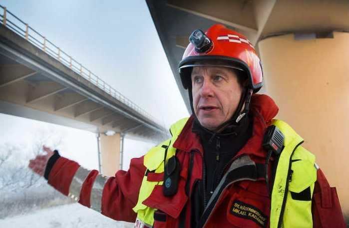 Mikael Kadanik, ställföreträdande räddningschef vid Åstorps räddningstjänst.