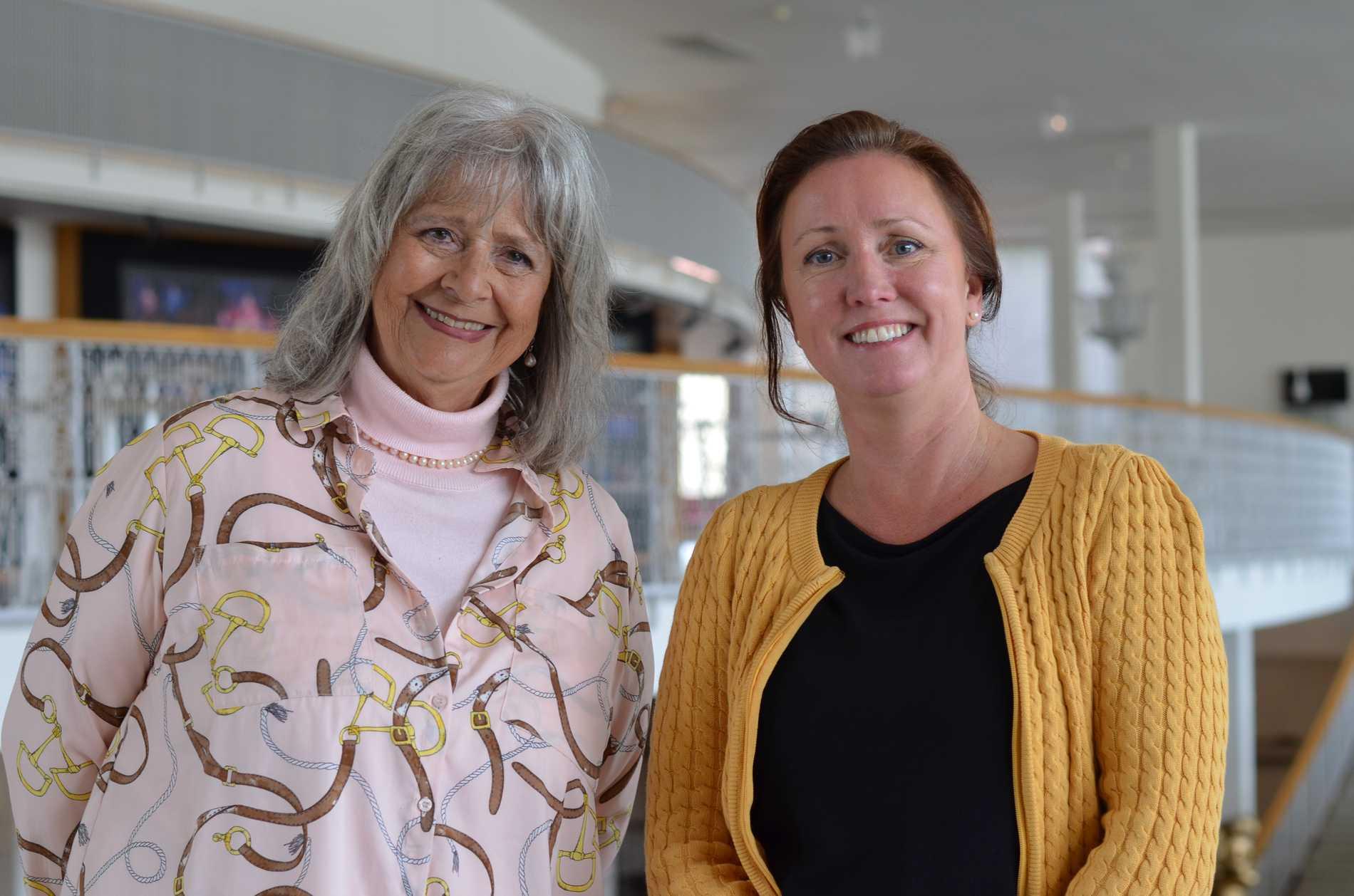 Harriet Cronström och Christel Rönn på Malmö Opera.