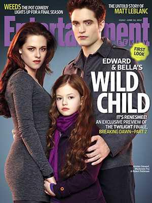 Edward, Bella och Renesmee.
