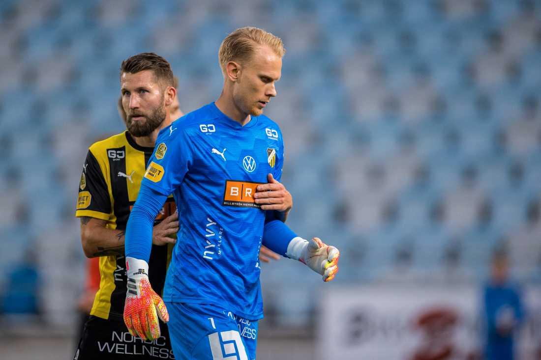 Pontus Dahlberg storspelade i debuten för Häcken.