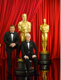 Alec Baldwin och Steve Martin är värdar för den 82:a Oscarsgalan.