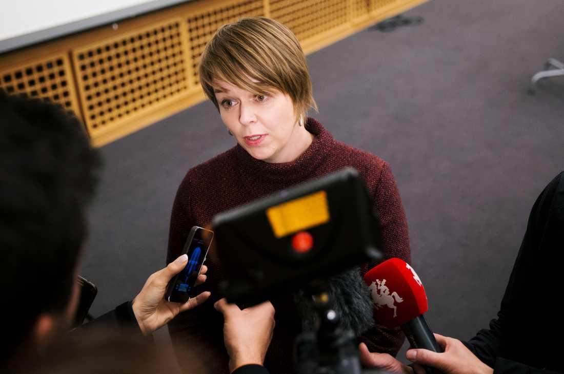Katrin Stjernfeldt Jahmmeh, kommunstyrelsens ordförande i Malmö.