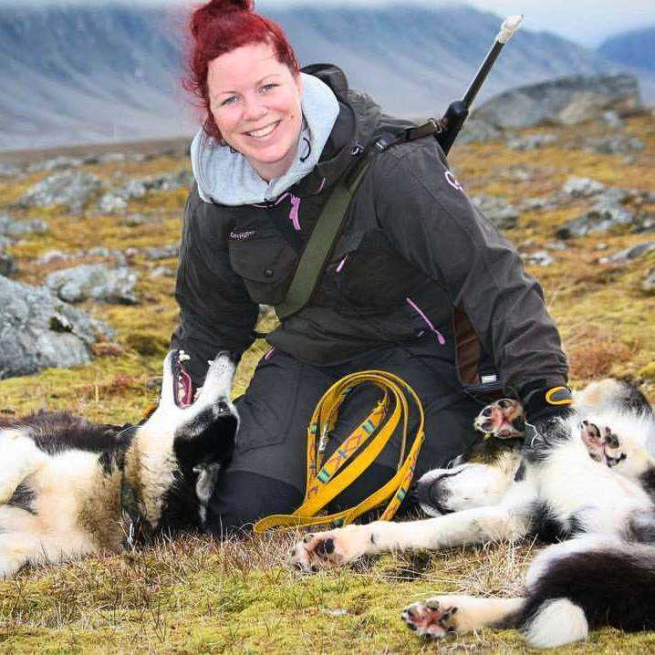 Malin Stark, 37, är bosatt på Svalbard.