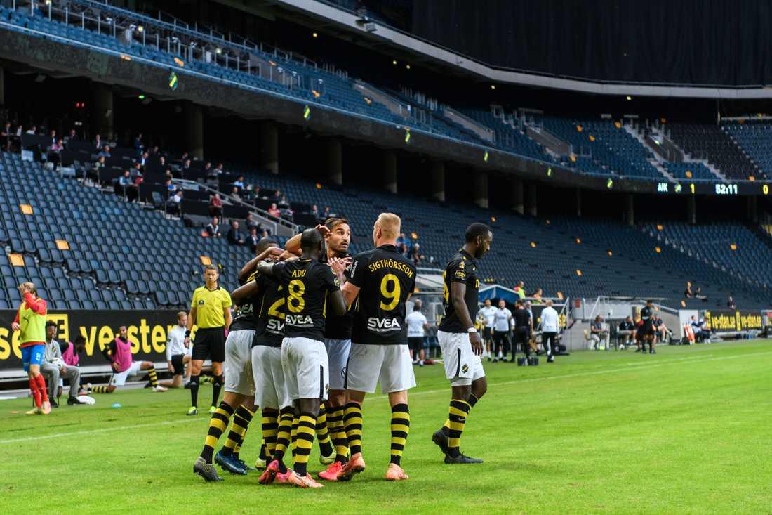 AIK fick segerjubla för första gången sedan 15 juli.