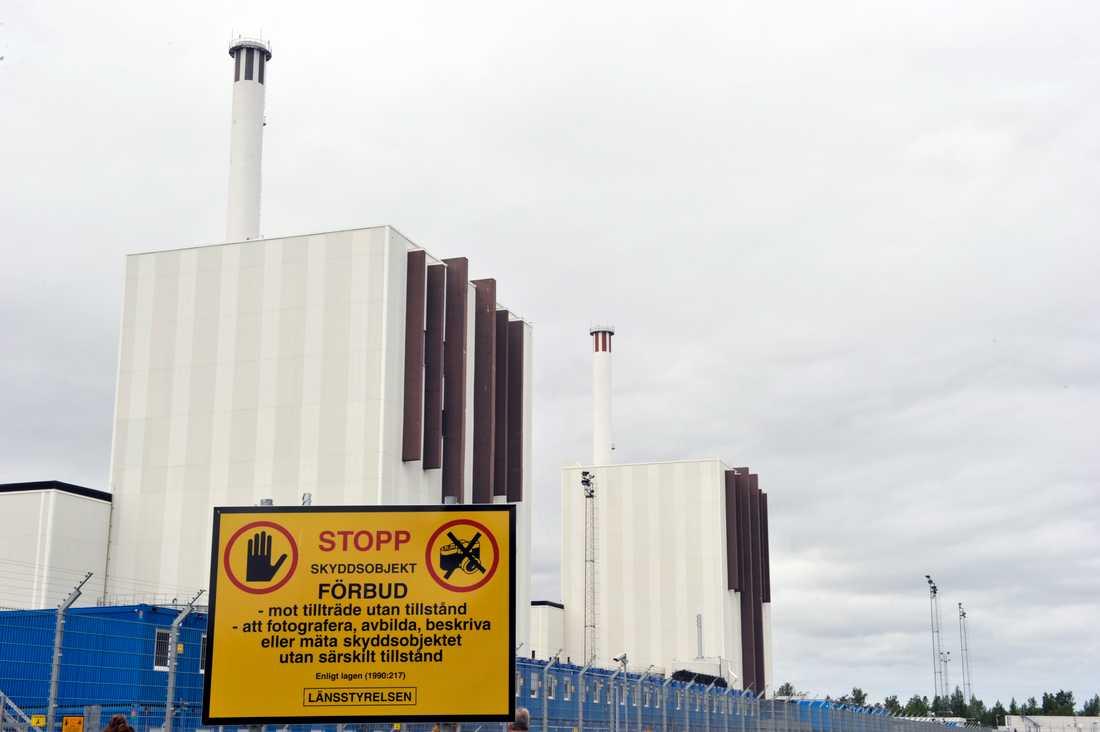 Forsmark har till följd av underhåll bara två av tre reaktorer i drift. Arkivbild.