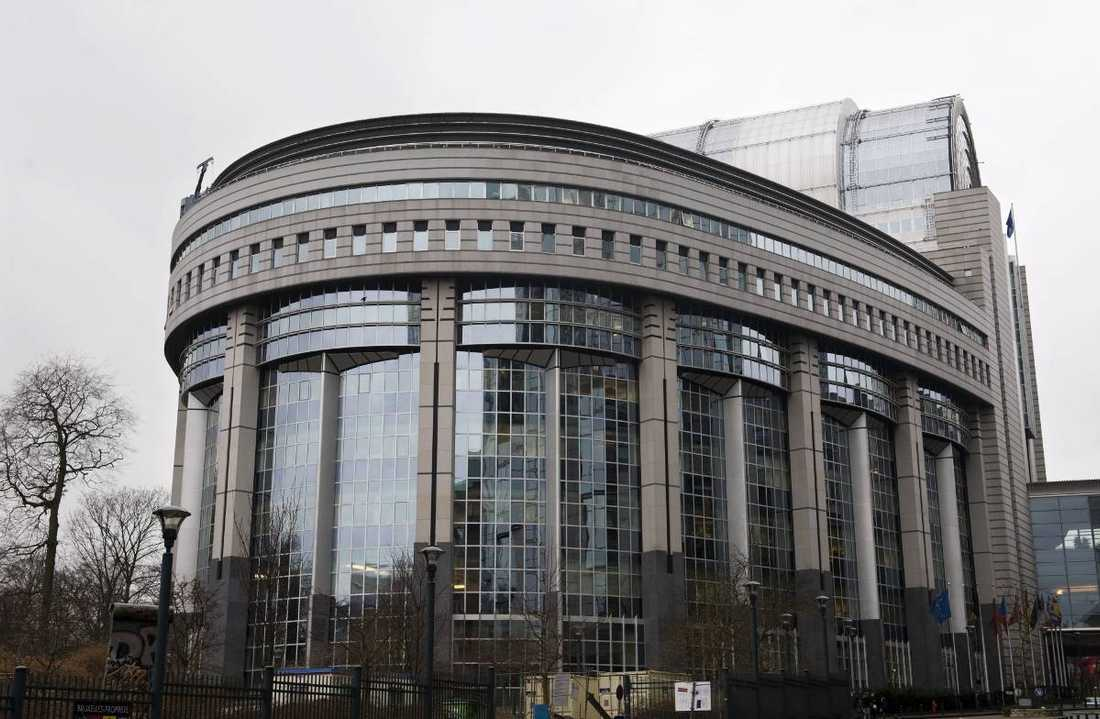 EU-parlamentet i belgiska Bryssel.