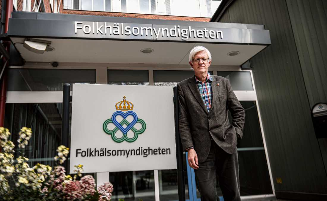 Johan Carlson, generaldirektör på Folkhälsomyndigheten.