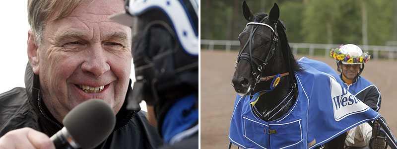 Spelexperten Börje Andersson varnar för Leif Witasps häst Cool Keeper.