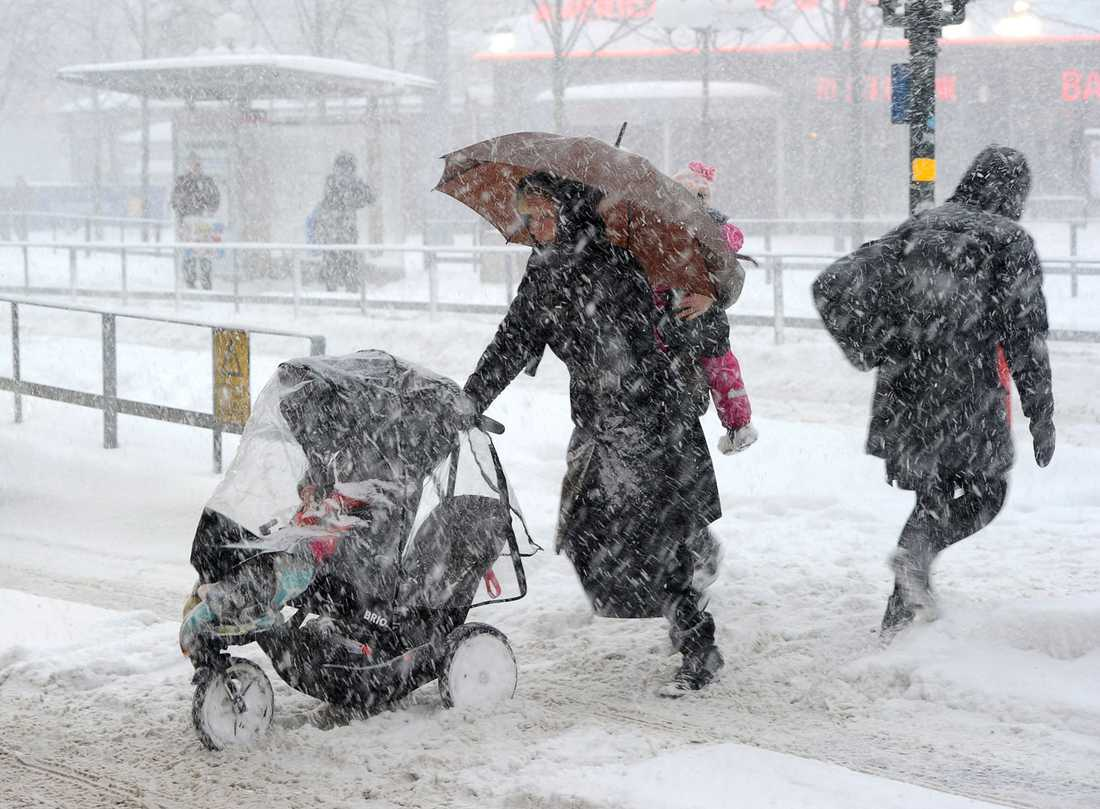 Bilder från ovädret den 5 december