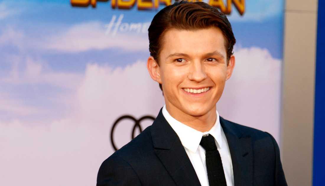 Tom Holland är aktuell som Spiderman i den nya filmen.
