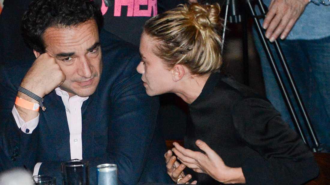 Mary-Kate Olsen och Olivier Sarkozy.
