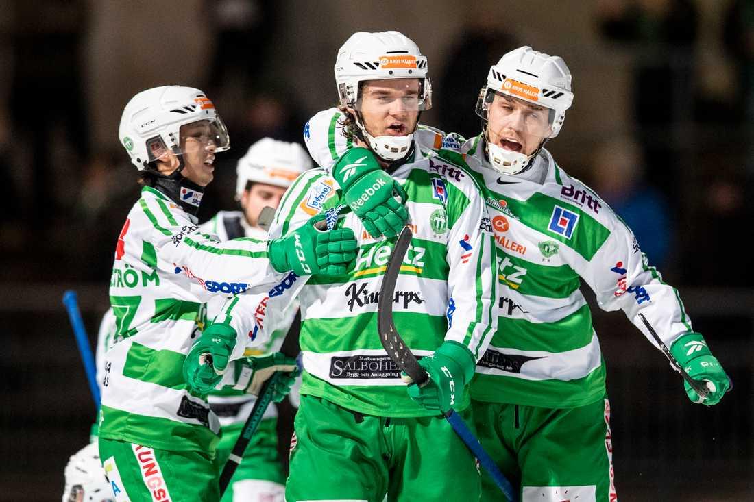 Västerås SK Bandy  laddar inför slutspel.
