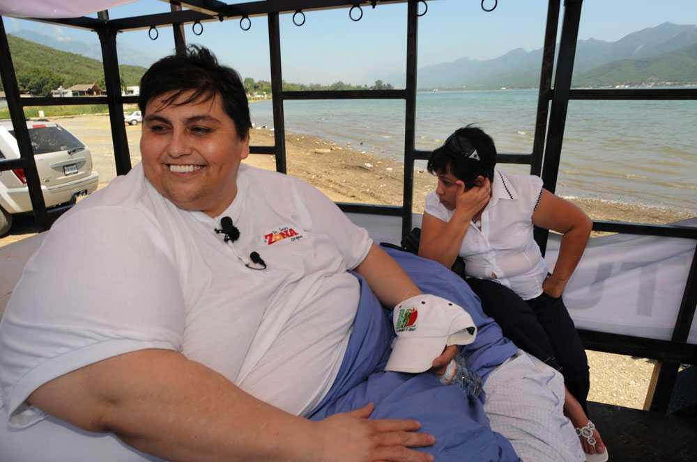 hur mycket väger världens tjockaste man