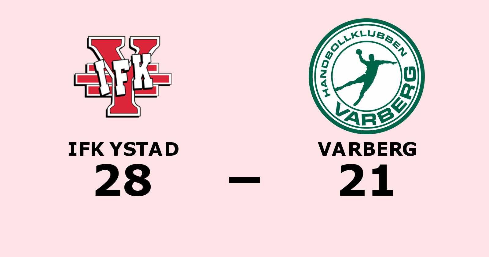 IFK Ystad vann mot Varberg på hemmaplan