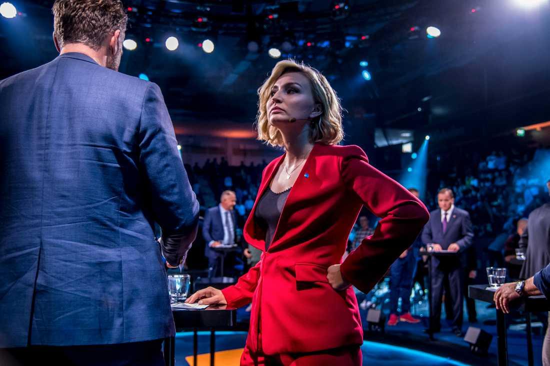 Ebba Busch Thor, partiledare Kristdemokraterna.