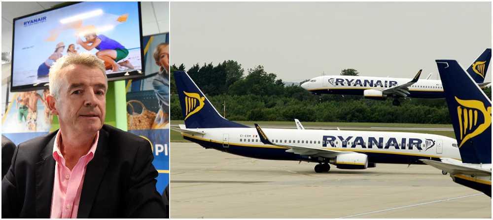 Michael O'Leary och Ryanair anställer 125 piloter.