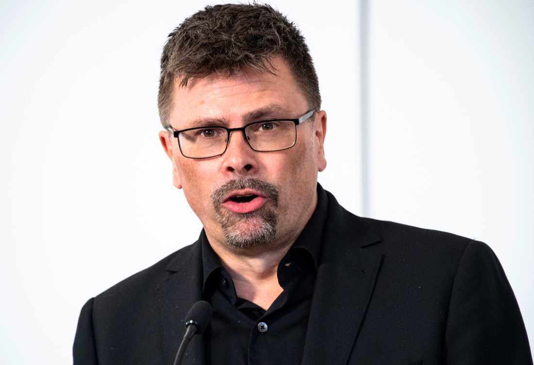 Svante Werger på MSB.