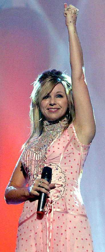 Pandora förra året i Melodifestivalen.