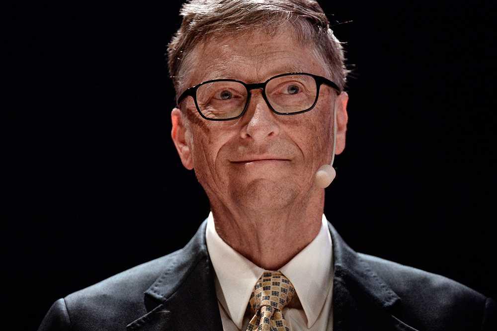 Bill Gates på besök i Sverige