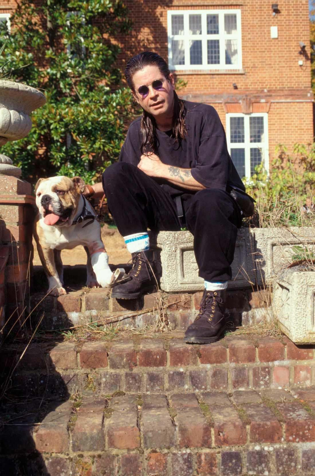 Ozzy Osbourne i Buckinghamshire.