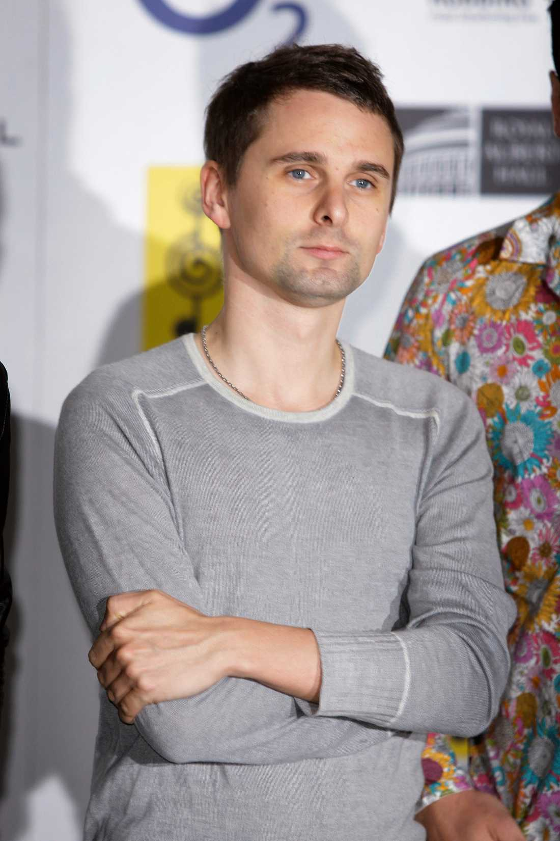 11 Matt Bellamy, Muse.