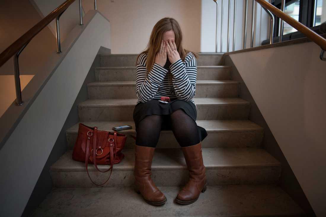 Var tredje tonåring lider av migrän, enligt en norsk studie. Arkivbild.