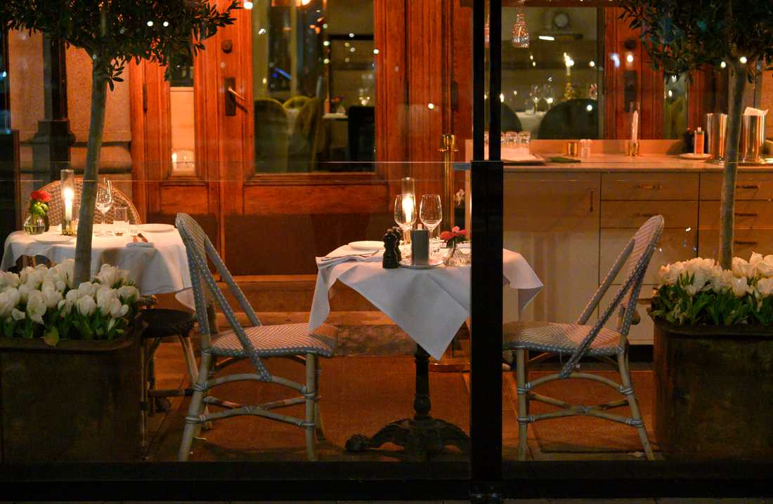 Folktomma restauranger är numera en vanlig syn.