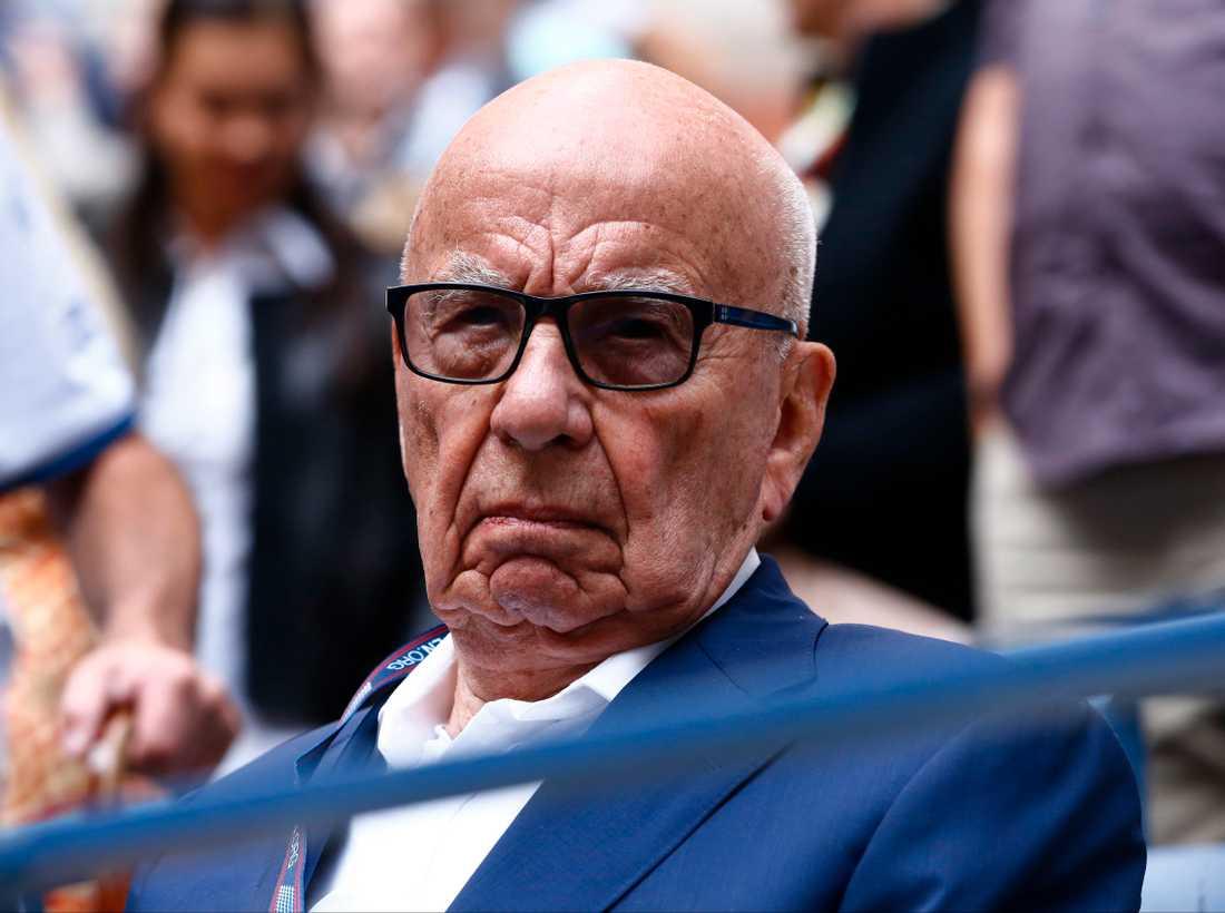 Konservativa medieägaren Rupert Murdoch.