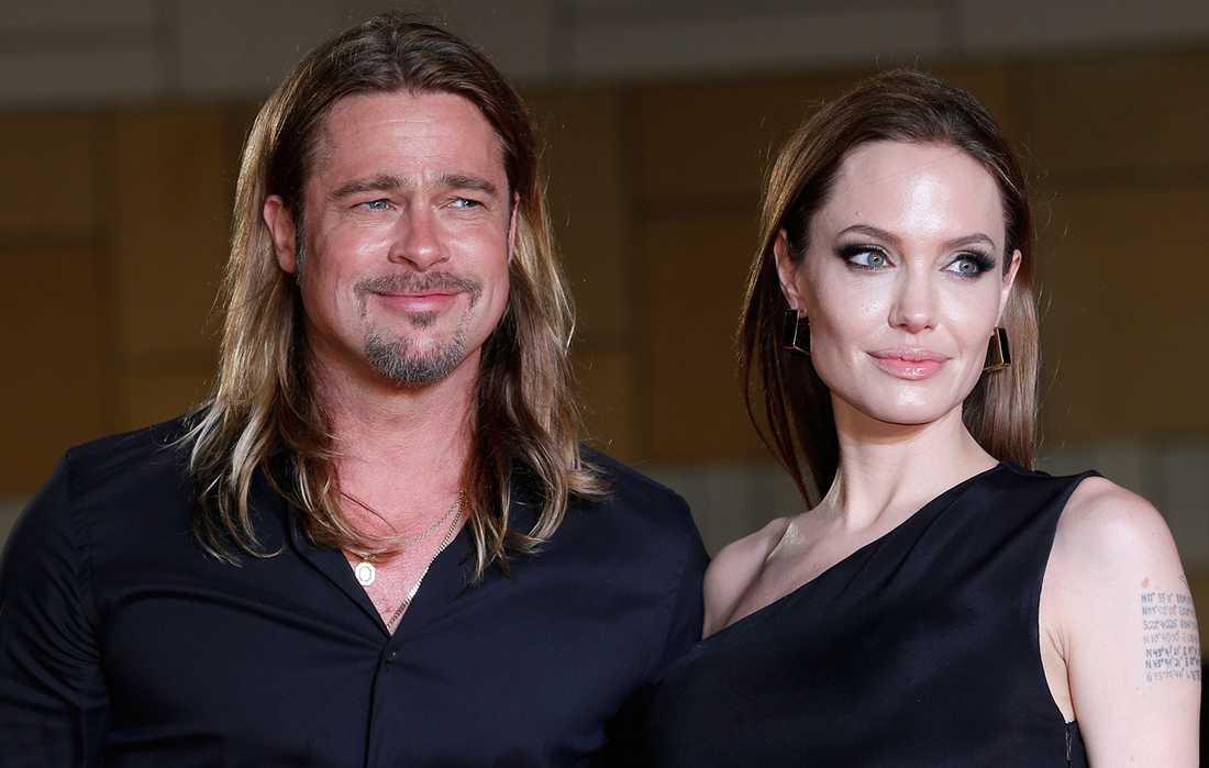 Stjärnparet Pitt och Jolie.
