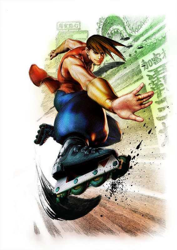 """Super street fighter IV: Arcade edition"""