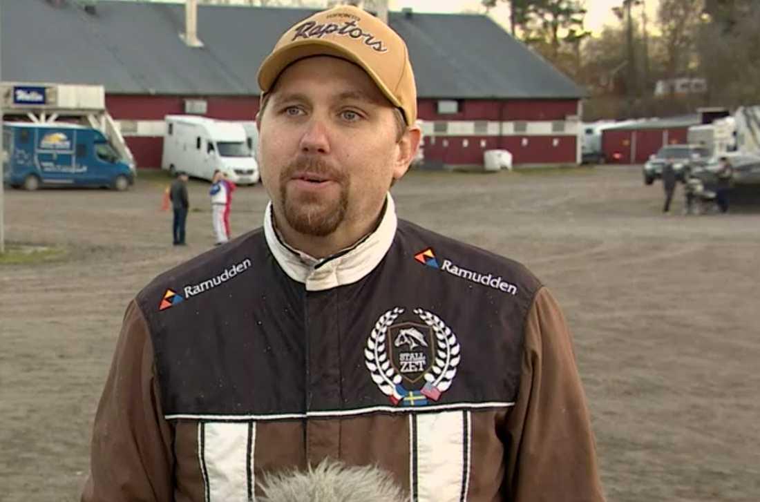 Tränare Daniel Redén.