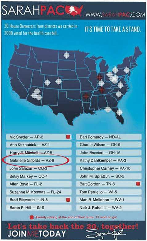 Listan på politiker som Tea Party-rörelsen vill ha bort.