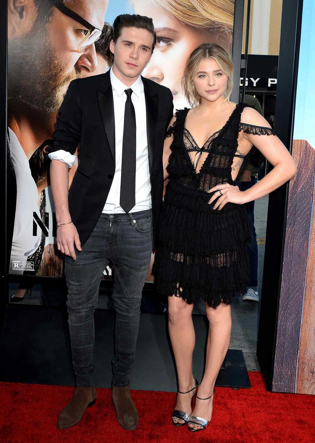 Brooklyn Beckham och Chloe Grace Moretz.