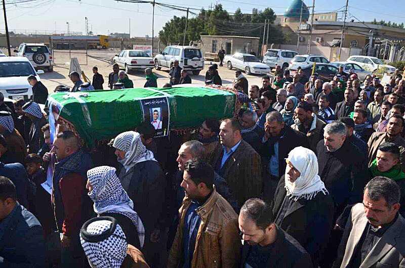 På onsdagen hölls hans begravning i hemstaden Najaf i Irak.