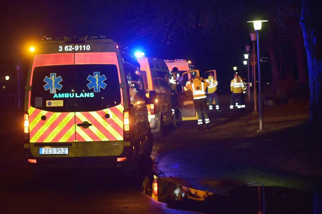 En man i 20-årsåldern har hittats ihjälskjuten i Segevång.