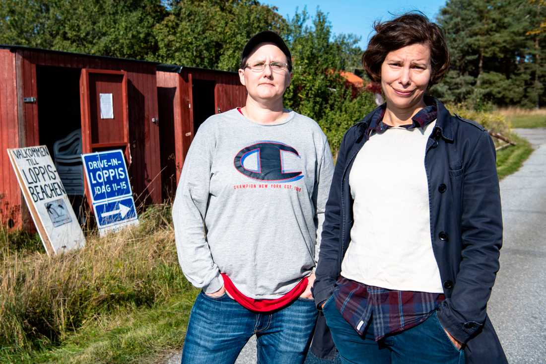Emma Perning och Maria Wiberg driver Stockholms loppmarknader.