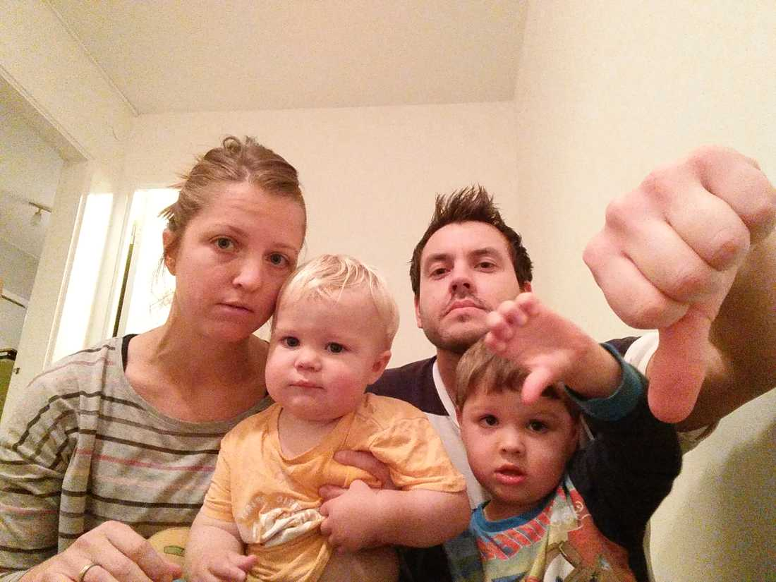 Familjen Hofverberg.